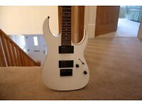 IBANEZ guitar RG2EX2 - (white) U.S.A exclusive. Good condition £250 O.N.O