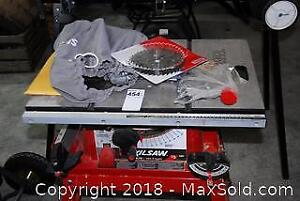 Skilsaw 15 Amp 10 In Table Saw