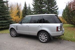 2012 Land Rover Range Rover supercharged SUV, Crossover