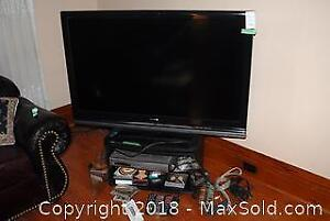 "Sony Flatscreen 52"" TV - A"