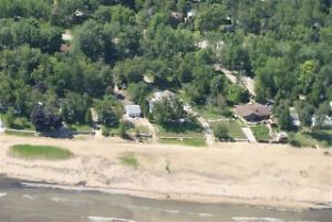 Lake Front Building Lot - On Sand Beach at Ipperwash