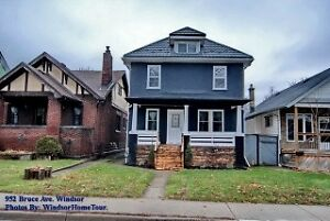 One of a kind updated 2 1/2 storey home