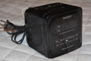 Sony Dream Machine Dual Alarm Clock Radio - model ICF-C120