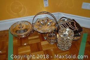 Assorted Silver and Copper Plate A