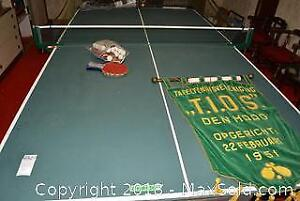 Ping Pong Table. C