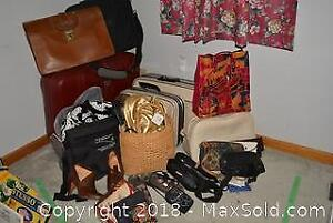 Suitcases Bags And Shoes B