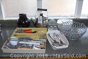 Cutlery Kettle Serving Utensils and More A