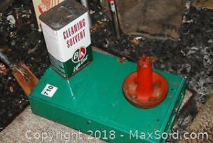 Camping Stove, Ice Pick And Anchor