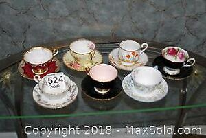 Teacups And Saucers - A