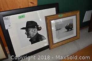 Framed Photos. B