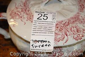 Tureen And Chamber Pot - A
