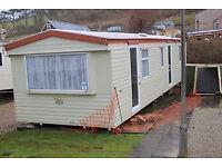 Static Caravan 35 x 10 ft / 3 Bedrooms, For Sale Off-Site