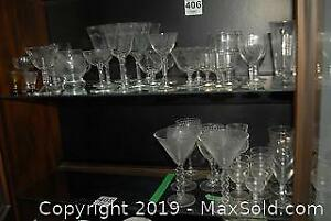 Etched Glassware And More D