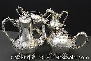 Antique Silver Plate Tea/Coffee set