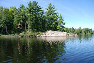 2 cottages on Nine Mile lake near Parry Sound crown land around