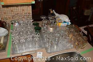 Glassware And Crystal A