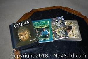Four Coffee Table Books