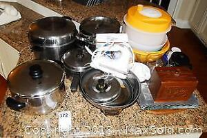 Pots and Kitchen Ware A