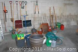 Garden Tools and Planting Supplies