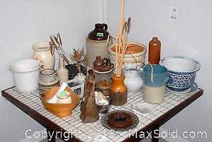 Clay Pots, Vases And More B