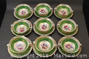 Hammersley China Cups & Saucers