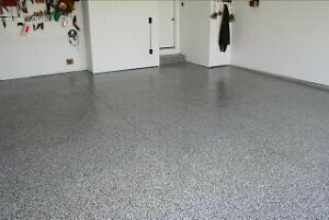 Decorative Chiped Floors, Epoxy, Cabinets, Overhead Storage London Ontario image 8