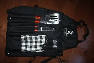 BBQ Utensil Set with Apron