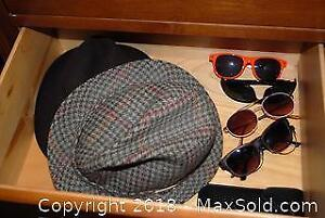 2 Mens Hats and 5 Sunglasses A