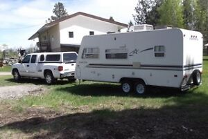 2005 GMC Sierra 1500 Pickup Truck & 2000 Starcraft Lite Trailer