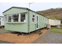 Static Caravan 36 x 12 ft / 3 bedrooms, double glazing and central heating