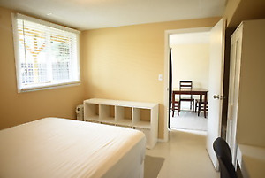 Furnished/utilities/internet/laundry/quiet living.