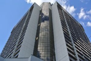 SUPERBLY UPGRADED 1 BEDROOM UNIT ON 19TH FLOOR WITH RIVER VIEW