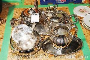 Silver Plate Collection A