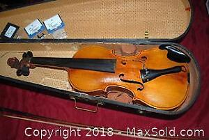 Jacob Stainer Violin With Case A