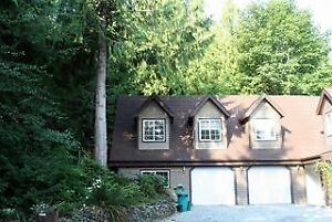 Semi furnished and private Suite in Sooke