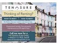 Property Wanted: Free Property Management & Guaranteed Rent