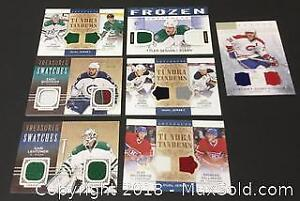 Lot of 7 Patch Cards, Tundra Tandems, Treasured Swatches.