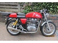 Royal Enfield continental GT with extras