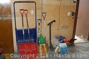 Snow And Garden Shovels And More B