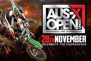 AUS-X Open Supercross 28th Nov VIP Perfect Fathers Day Present Charlestown Lake Macquarie Area Preview