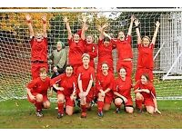 South London Women's Football Team - New Players Wanted