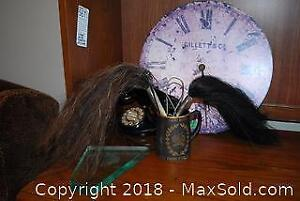 Telephone, Clock, Fly Swats - A