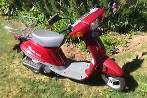 Classic Yamaha Scooter in Good Working Condition