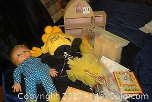 Dolls And Toys B