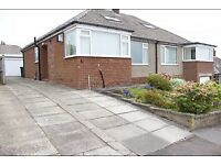 Semi detached bungalow to let in Lepton, Huddersfield.