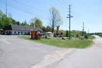 20 units motel 1100' riverfront  on 3 acres near Parry Sound