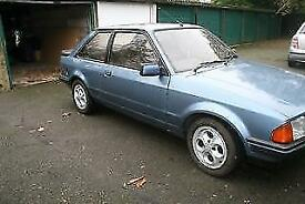 Ford Escort xr3i 1984 (b reg) 1600 cc