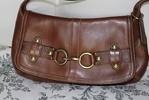 Authentic Coach - Brown Leather