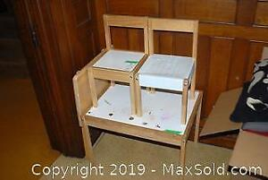 Children's Table And Chairs, TV Table - B