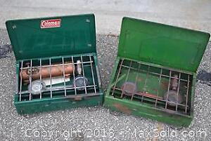 """""""Coleman"""" Portable Camp Stoves"""